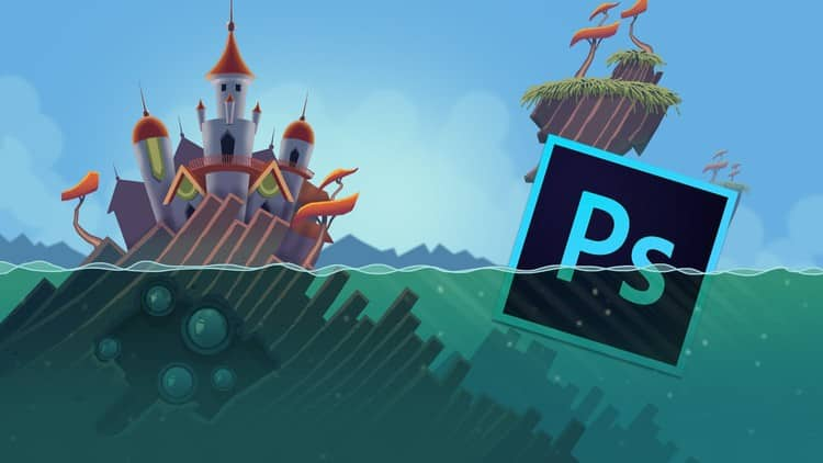 Learn Professional 2D Game Asset Graphic Design in Photoshop
